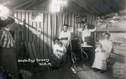 Sands Day Nursery, Weston Super Mare, c.1910