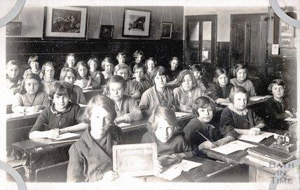 Class STO IV, Lyncombe Girls School, Bath, c.1920