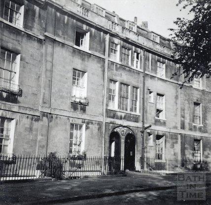 Widcombe Crescent, c.1920