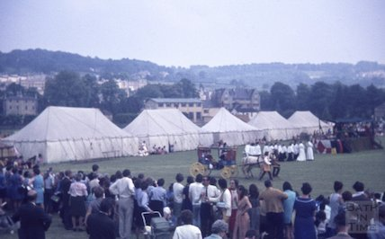 Festival on the Recreation Ground, Bath, c.1960s