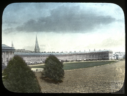 View of the Royal Crescent, Bath, c.1885
