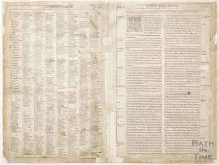 List of Hundreds of Somerset and description of the county 1610