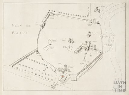 Plan De Bathe c.1650