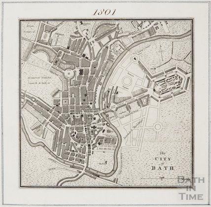 The City of Bath 1801