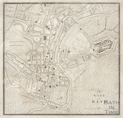Additional Buildings to Bath 1806