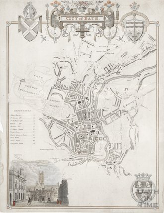 City of Bath Map 1837?