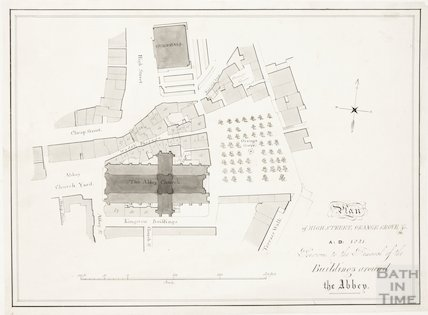 Plan of High Street , Orange Grove & c.1821