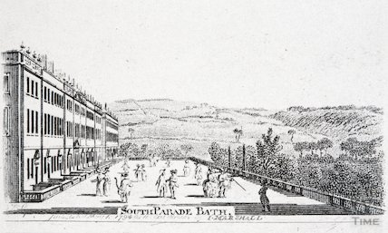 South Parade, Bath, 1794