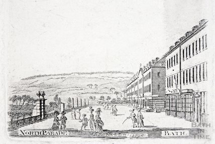 North Parade, Bath, 1794
