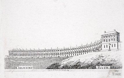 The Royal Crescent, Bath, 1794