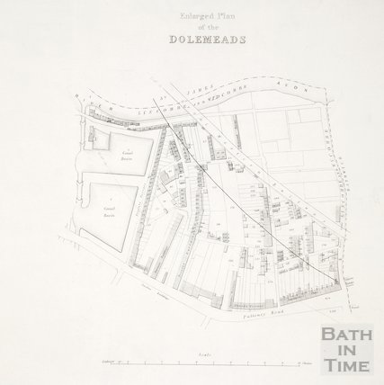 Enlarged Plan of the Dolemeads c.1840?