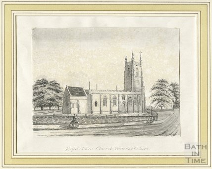 Keynsham Church, Somersetshire, c.1860s