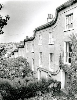 St. Mary's Buildings Wellsway, September 1991.