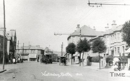 Bear Flat, Wellsway, Bath, c.1915