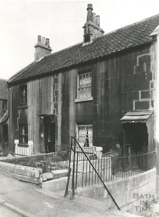 Numbers 34 & 35 Beechen Cliff Place, Holloway, Bath, c.1950