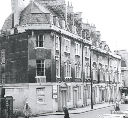 St. James's Parade, Bath, c.1969