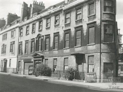 St. James's Parade, Bath, c.1950s?