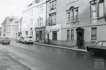 The Abbey Dairy, St. James's Parade, 1966.