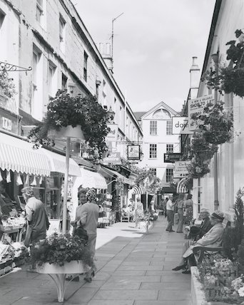 Northumberland Place, Bath 1975/6