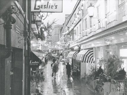 Northumberland Place, Bath, 23rd November 1972.