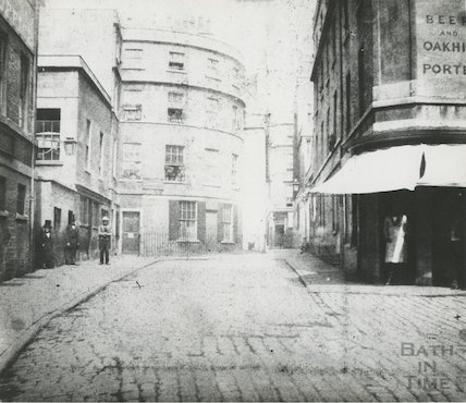 St. Michael's Place, Bath, 1849.