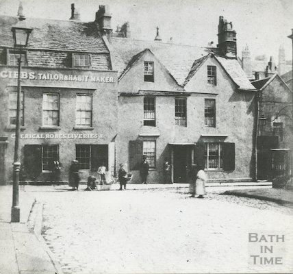 Old King Street, Bath, 1849.