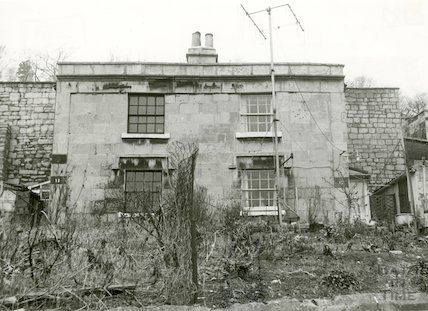 Camden Cottages, Bath, c.1963