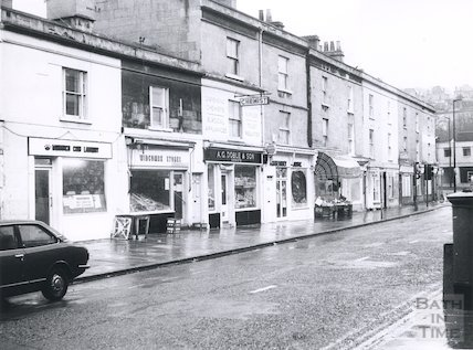 Claverton Street, Bath, 1976.