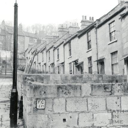 Moorfields Place, Hedgemead July 1964.