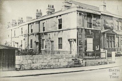 Caroline Terrace, Pulteney Road, October 1965.