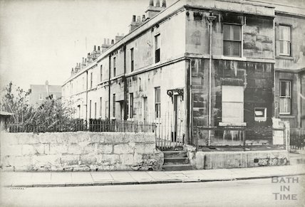 Caroline Terrace, Pulteney Road, October 1965.