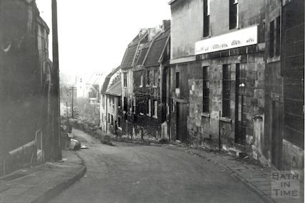 St. Swithin's Place, Walcot by the side of Hayes, 1966.