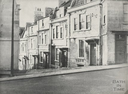 High Street Lansdown North side from Lansdown Road, 1965.