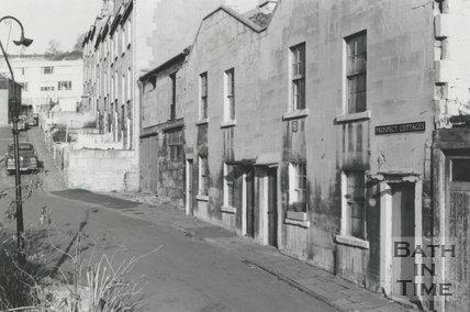 Prospect Cottages, Northampton Buildings, c.1960s