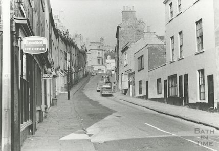 Morford Street, Bath, 1968