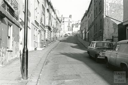 Morford Street from Julian Road up to Lansdown Road, c.1960s