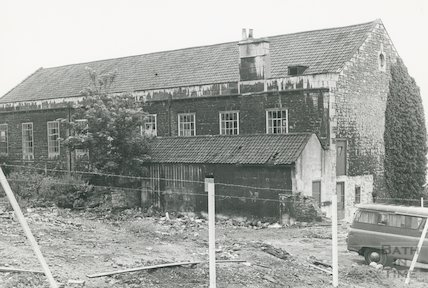 18 Century Real Tennis Court off Morford Street, June 1973
