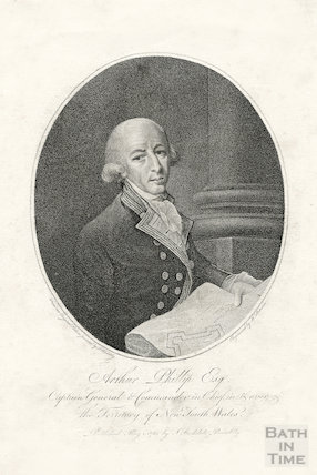Captain (later Admiral) Arthur Phillip (11 October 1738) 31 August 1814), 1789