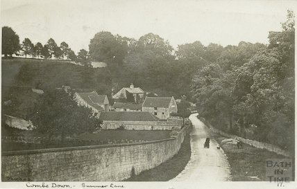 Summer Lane, Combe Down, 1907
