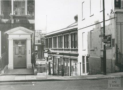 Evans and Owen, Bartlett Street, Bath, 1975