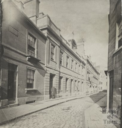 Old Orchard Street, c.1885