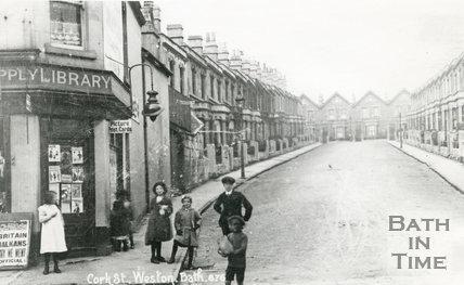 Cork Street, Upper Bristol Road, Weston, Bath, c.1915