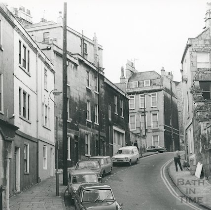 Guinea Lane, Bath, September 1972