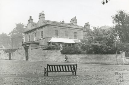The Old Vicarage, Richmond Road, Bath 1969