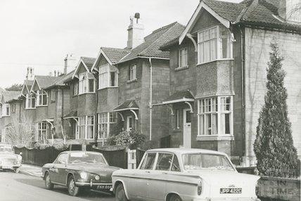 St. John's Road, Bath 1969