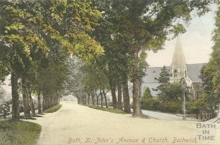 St. John's Church, Bathwick, c.1900