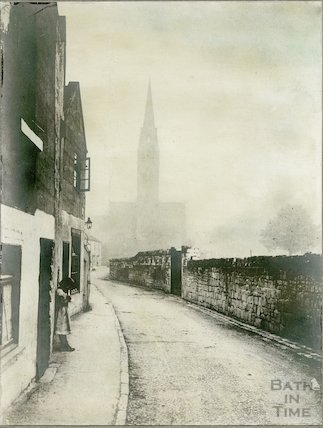 Ferry Lane, Dolemeads, Bath, c.1900