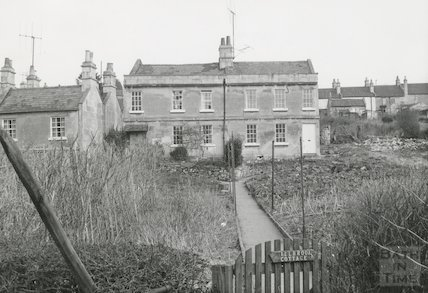 Millbrook Buildings, Lower Swainswick, Showing Millbank Cottage and Millbrook Cottage, Bath, c.1971