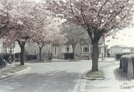 Mendip Gardens, Odd Down, Bath c. 1967