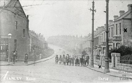 Stanley Road West, Oldfield Park, c.1905